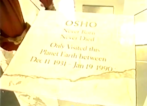 OSHO Never Born Never Died Only Visited this  Planet Earth between Dec 11 1931-Jan 19 1990